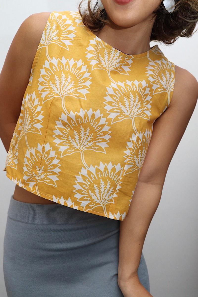daundaun_yellow_crop_batikblouse